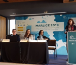 Sonia Albein from AIMPLAS, visited Sevilla (Spain) to present the Oceanets project in the Marine Litter International forum, MARLICE 2019. (11/04/2019)